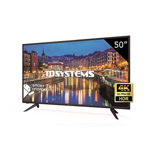 TD Systems K50DLH8US - Televisor Led 50 Pulgadas Ultra HD 4K Smart, resolución...