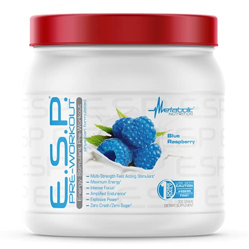 Metabolic Nutrition   ESP - Stimulating Pre Workout, Pre Intra Workout...