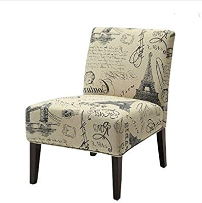 Astounding Amazon Com Acme Ollano Pattern Fabric Accent Chair Kitchen Lamtechconsult Wood Chair Design Ideas Lamtechconsultcom
