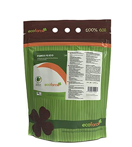CULTIVERS Quelato de Hierro Fertilizante Ecológico de 5 Kg. Reverdeciente anticlorosis. Nutriente Fundamental para Las Plantas (6% Fe-EDDHA orto orto 4,8 % ). Force Fe