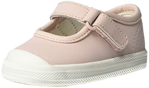 Keds girls Champion Toe Cap Mj Crib, Pink, 1 Infant US