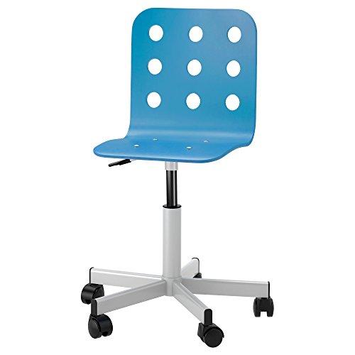 ZigZag Trading Ltd IKEA Jules–Silla de Escritorio Juvenil Azul/estática