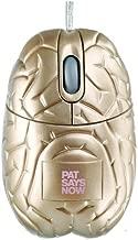 Pat Says Now PSN5249 Gold Brain Optical Mouse - Fun Series