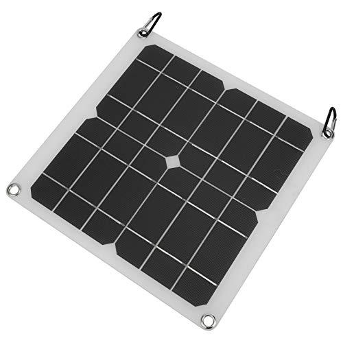 Módulo de Panel Solar, Cargador de Emergencia para Exteriores, protección de sobrecarga Delgada y Liviana, Alta tasa de conversión, Camping, Hombre para Mujer, Viajes