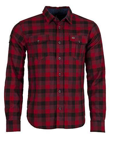 Ternua Chemise pour Homme Nokha Shirt M XXL Rouge foncé