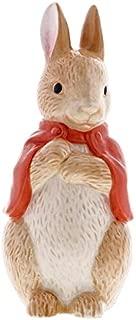 Beatrix Potter A29293 Flopsy Bunny Sculpted Ceramic Money Bank