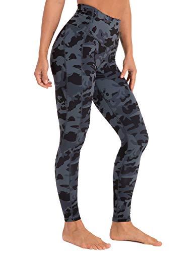 Coastal Rose Women's Yoga Pants Comfy Brushed 7/8 Length High Waisted Workout Leggings