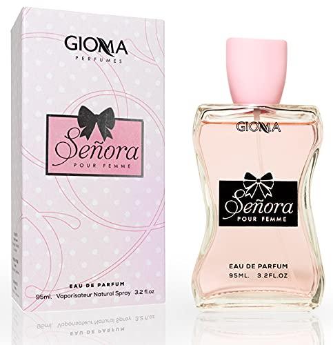 Senora Eau De Perfume Intense 95 ml. Compatible con Miss Diore, Perfumes Equivalente, Imitaciones de Mujer