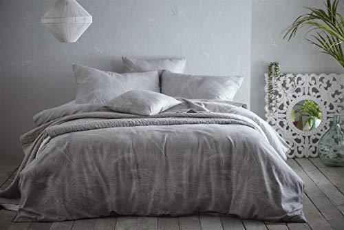 Portfolio Prestige Hot House Dove Grey Super King Duvet Cover Set Bedding Bed Set