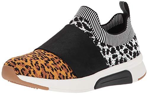 Mark Nason Los Angeles Women's Abbe Sneaker, Leopard, 8.5 M US