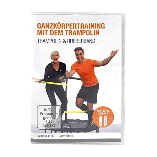 FLEXI-SPORTS® DVD Ganzkörpertraining mit dem Trampolin, Trampolin & Rubberband, Sprache Deutsch, Bildformat 16:9, 2-Pal, Laufzeit ca. 58 Minuten