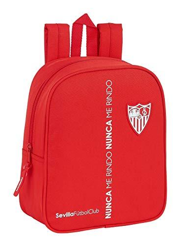 Mochila Safta Infantil de Sevilla FC Corporativa, 220x100x270mm