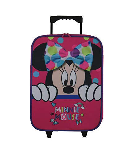 Maleta MINNIE Soft - 1 compartimento - Rosa