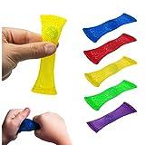 Gomloious (Lot de 5 fidgets en marbre apaisants pour Augmenter la Concentration, soulager Le Stress pour Les Enfants et Les Adultes. Aide avec TDAH, OCD, autisme, Salle de Classe et Bureau