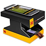 KODAK Mobile Film Scanner - Fun Novelty Scanner Lets You Scan and Play with Old 35mm Films & Slides Using Your Smartphone Camera - Cardboard Platform & Eco-Friendly Toy LED Backlight