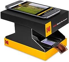 KODAK Mobile Film Scanner - Fun Novelty Scanner Lets You Scan and Play with Old 35mm Films & Slides Using Your Smartphone Camera - Cardboard Platform & Eco-Friendly Toy LED Backlight
