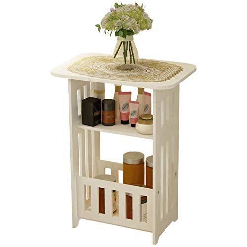 WJHH Cesta de Almacenamiento de plástico Inicio Mini Mesa de café para baño Sala de Estar Cocina