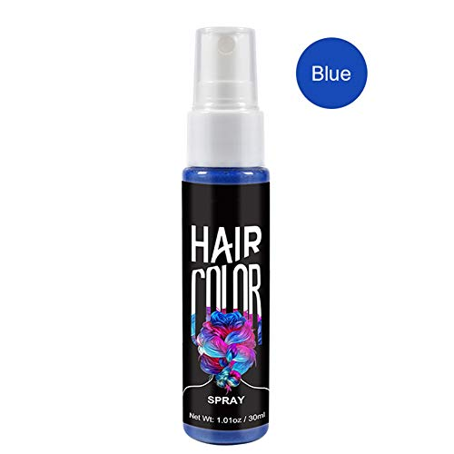 Fanville Hair Color Spray Instant Styling One Time Dry Color Fashion Beauty Makeup 30ml
