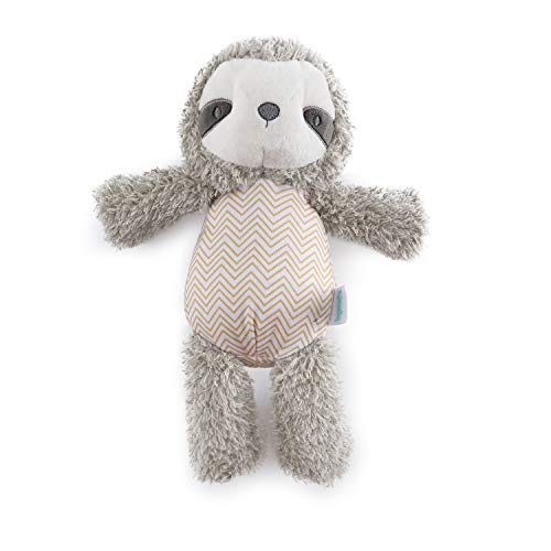 Ingenuity Premium Soft Plush Stuffed Animal Toy - Loni The Sloth, Ages Newborn +