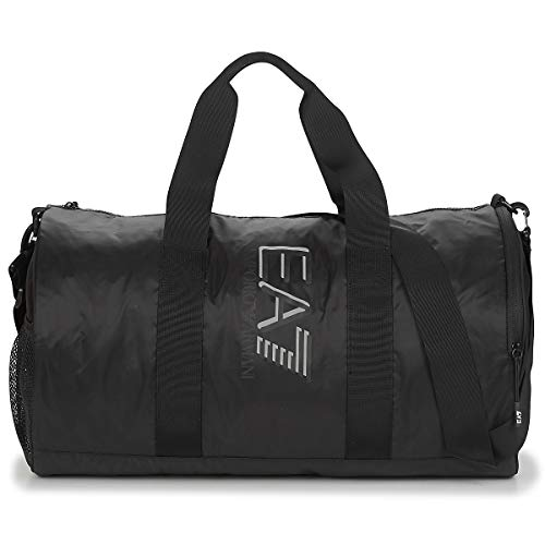 EMPORIO ARMANI EA7 TRAIN VISIBILITY M GYM BAG Sporttas heren Zwart - One size - Sporttas