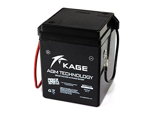 GEL-Batterie KAGE 6N4-2A-4 / 6N4-2A-7 4AH für Aprilia H o n d a S u z u k i Y a m a h a
