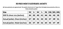 Ro Rox Men's Black Gold Steampunk Gothic Military Sleeveless Parade Jacket, Black & Gold, Men's XXXL #4