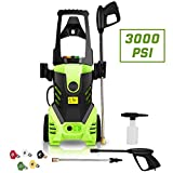 Best Pressure Washers - Homdox Electric Pressure Power Washer 3000PSI 1.8GPM Gas Review