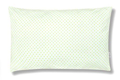 Amilian® Dekokissen Kissenbezug Kissen 40cm x 60cm Pünktchen Hellgrün