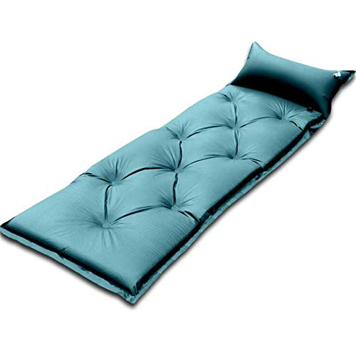 Strandzelt Rucksack-Isomatte Leichte Isomatte Ultraleichte & kompakte & aufblasbare Isomatte mit Luftpolster für Camp Backpacking-Reisen Camping Zelt (Color : Blue, Size : 183 * 58 * 5.0cm)