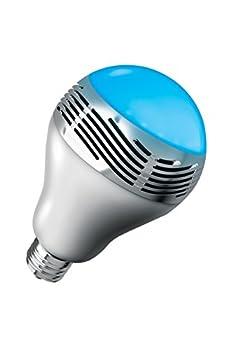 Sharper Image SBT5007WH Switcher Bluetooth Wireless Smart Speaker Bulb