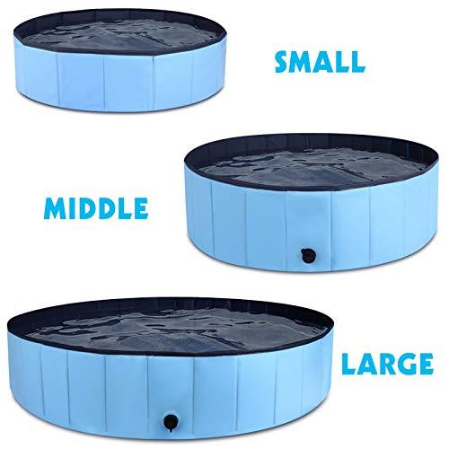 MorTime Foldable Dog Pool