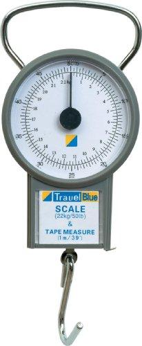 Travel Blue Scales Pèse Bagages, 15 cm, Gris (Grey)