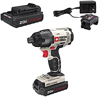 PORTER-CABLE 20V MAX Impact Wrench, Tool Only (PCC641LB)