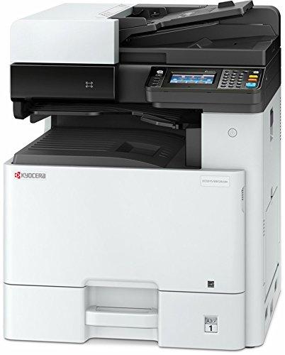 Kyocera Klimaschutz-System Ecosys M8124cidn Farblaser Multifunktionssystem: Drucken, Kopieren, Scannen. 24 Seiten pro Minute. Inkl. Mobile-Print-Unterstützung für Smartphone und Tablet