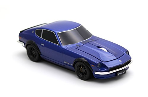 [Cassette Car Mouse]日産フェアレディ 240Z(NISSAN Fairlady Z) ミッドナイトブルー ワイヤレスマウス