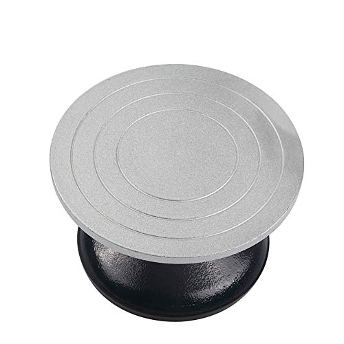 Falling in Art Heavy Duty Metal Pottery Decorating Banding Wheel, 12 Inches Diameter