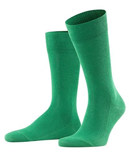 FALKE Herren Family M SO Socken, Blickdicht, Grün (Golf 7408), 43-46