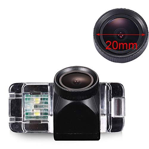 HD 20mm Telecamera retromarcia colori visione notturna sistema parcheggio impermeabile resistente agli urti per Ford Focus 2/Mondeo MK4/C-Max MK2/S-Max MK1/MK3/Fiesta MK6/Kuga/EcoSport MK1