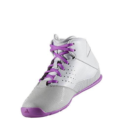 adidas adidas Unisex-Kinder Nxt Lvl SPD V K Basketballschuhe, Grau (Grpulg/pursho/grpumg), 38 EU