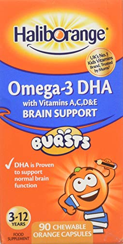 Haliborange Kids Omega-3 Chewy Orange - Pack of 90 Tablets