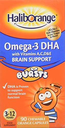 Haliborange Kids Omega-3 Chewy Orange - Pack of 90 Tablets