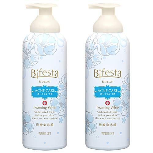 【Amazon.co.jp限定】 Bifesta(ビフェスタ) 【医薬部外品】 炭酸 泡洗顔 コントロールケア 泡 洗顔フォーム 洗顔料 セット 180g×2本