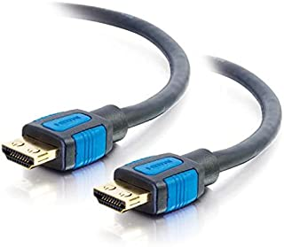 C2G HDMI Cable, 4K, High Speed HDMI Cable, 60Hz, 15 Feet (4.57 Meters), Black, Cables to Go 29680