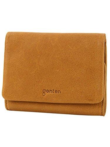 [ゲンテン] genten Gソフト 二つ折り財布 GE-40705-50 ブラウン