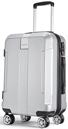 Shaik SH010 Gepäck- Koffer-Set Handgepäck Silber