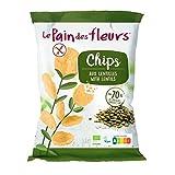 LE PAIN DE FLEURS Chips LENTEJAS 50 g, Estándar, Único