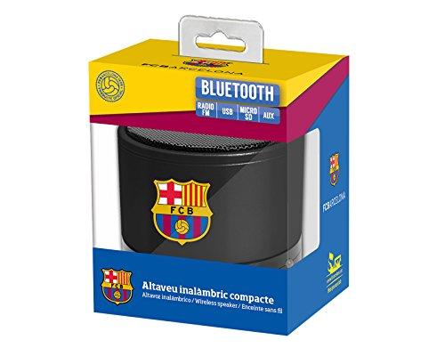Subsonic FC Barcelona Altavoz inalámbrico, Azul
