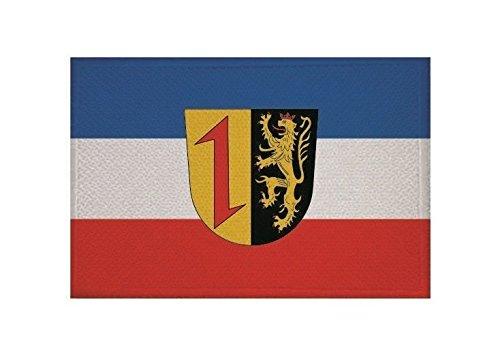 U24 Aufnäher Mannheim Fahne Flagge Aufbügler Patch 9 x 6 cm