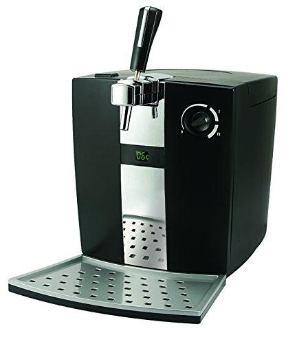 Sogo: SS-12610 Dispensador de Cerveza de Barril 5 Litros, Kit Artesanal, Tirador de Cerveza con Sistema de Refrigeración, Estilo Tradicional, 72W, Color: Negro