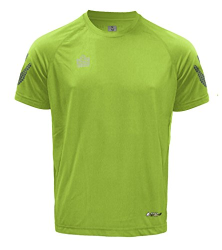 ADMIRAL Tactic Soccer Training Jersey, Fluorescent Yellow/Steel, Adult 3X-Large